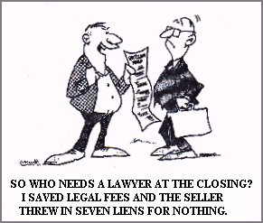 Hire a Lawyer at Closing